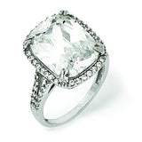 Sterling Silver CZ Ring QCM1054