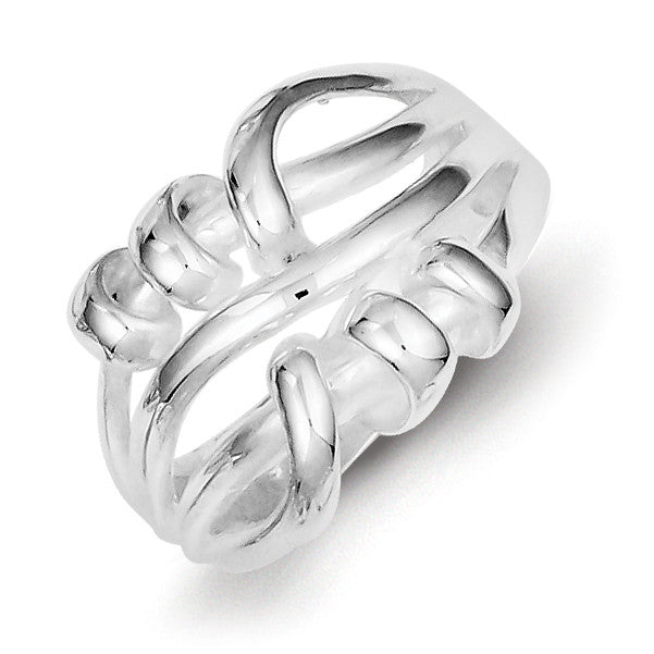 Sterling Silver Fancy Ring QR1795 - shirin-diamonds