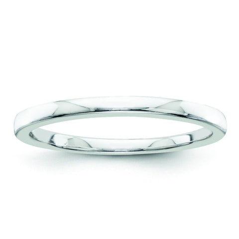 Sterling Silvadium Belle Amore Wedding Band