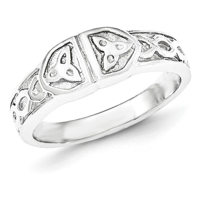 Sterling Silver Polished Fancy Ring - shirin-diamonds