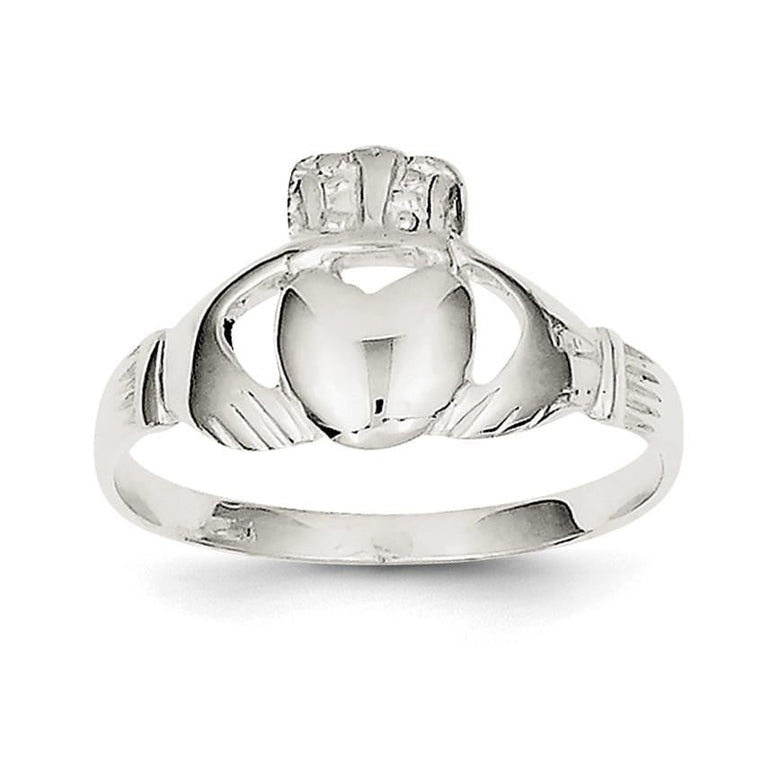 Sterling Silver Claddagh Ring - shirin-diamonds