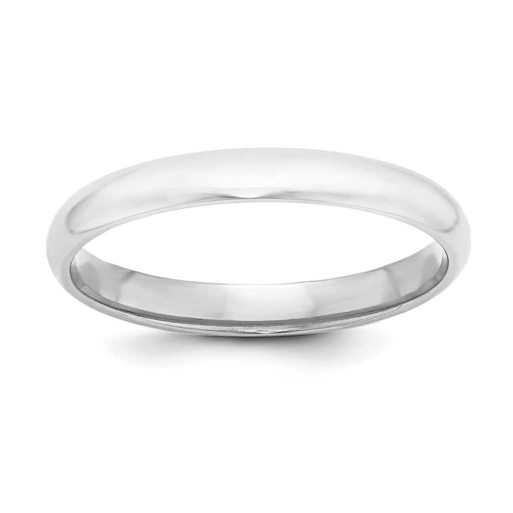 Sterling Silver Stackable Expressions 3mm Half-Round Band - shirin-diamonds