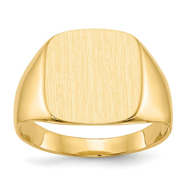 14k Men's Signet Ring RS311 - shirin-diamonds