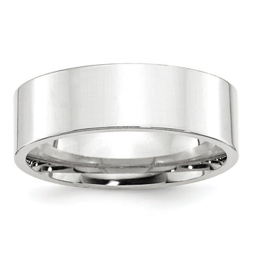 14KW 7mm Standard Flat Comfort Fit Band WFLC070 - shirin-diamonds