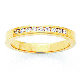 14k AA Diamond Channel Band X8529AA - shirin-diamonds