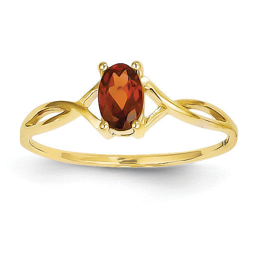 14k Birthstone Ring XBR226 - shirin-diamonds