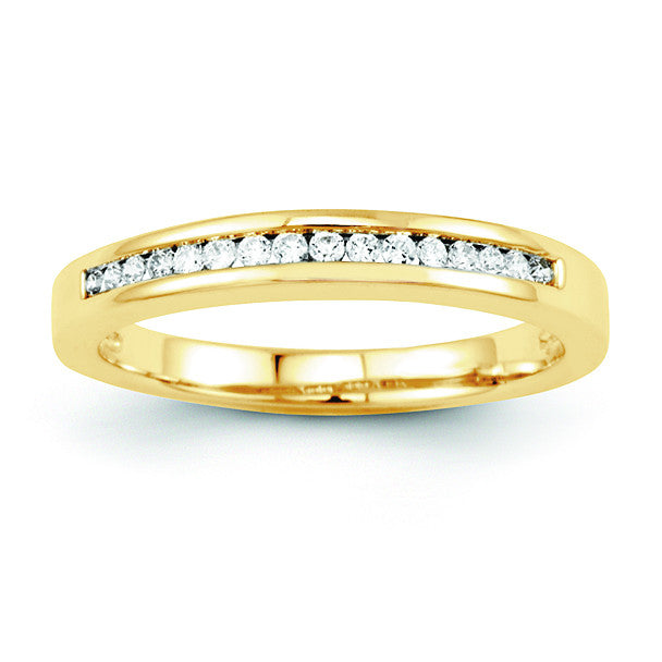 14K Diamond Wedding Band Y8297AA - shirin-diamonds