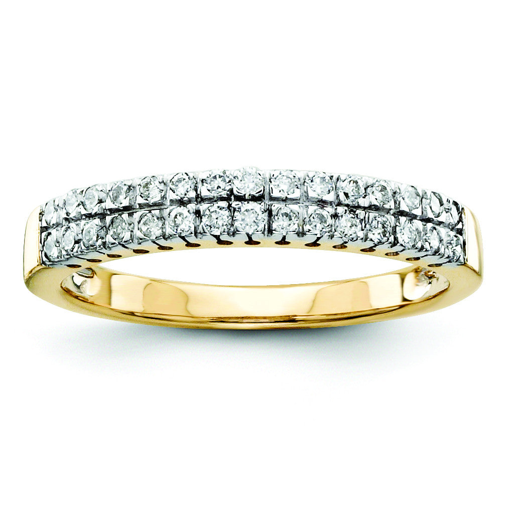14k Diamond Wedding Band Y9941AA - shirin-diamonds
