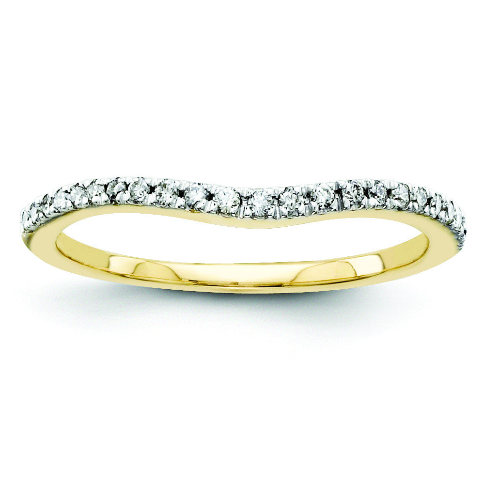 14k Diamond Wedding Band Y9956AA - shirin-diamonds
