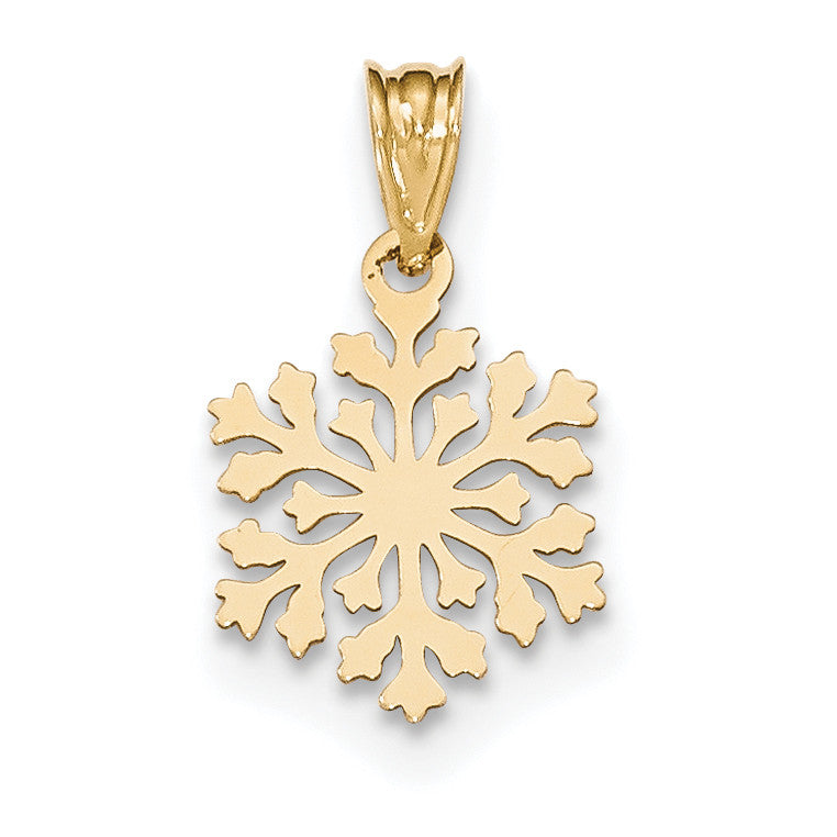 14k Laser Cut Charm YC1186 - shirin-diamonds