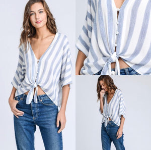 Stripes Loose Top