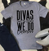 """Divas Don't Do Drama"" Screen Print Graphic Tee"