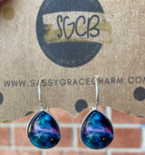 """Swaying On My Mind"" Themed Dangle Earrings"