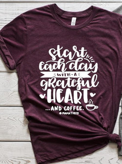"""Grateful Heart And Coffee"