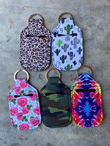 """Purely Perfect"" Hand Sanitizer Key Chains"