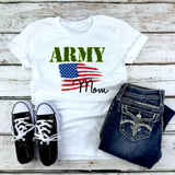 """Army Mom"" Graphic Tee"