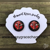 Custom Collegiate Themed Earrings