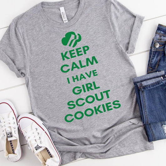 """Keep Calm I Have Cookies"" Screen Print Tee"