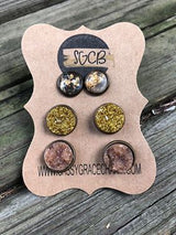 """Mixed Up"" Earring Sets"
