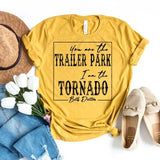 """Trailer Park-Tornado"" Fan Art Screen Print Graphic Tee"