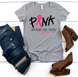 """Pink Spread the Hope"" Graphic Tee"