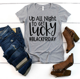"""Up All Night"" Black Friday Graphic Tee"