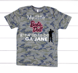 """My Little Doll"" Graphic Tee"
