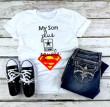 """My Son Superman"" Graphic Tee"