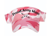 """Proud Moments"" Custom Sun Visors"