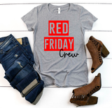 """RED Friday Crew"" Graphic Tee"