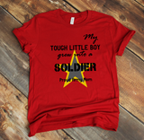 """Tough Little Boy"" Graphic Tee"