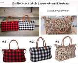 """It's Only The Weekend"" Weekender Travel Bags"