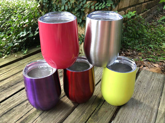 Wine Tumblers with Lid