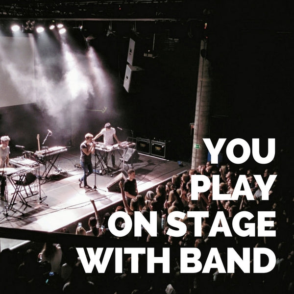 You Play On Stage w/ Giana's Band
