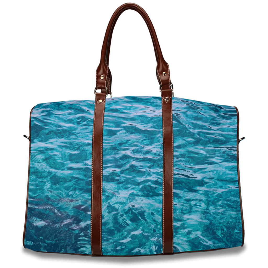 Oceanic Vibes Travel Bag