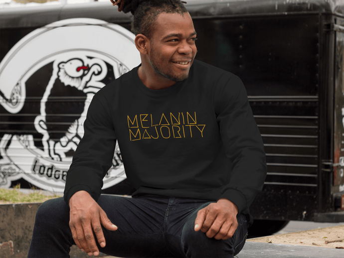 Melanin Majority Crew Neck Sweatshirt