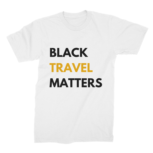 Black Travel Matters Shirt (Kings)