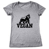 Vegan Gorilla Women's Relaxed Fit Tri-Blend T-Shirt