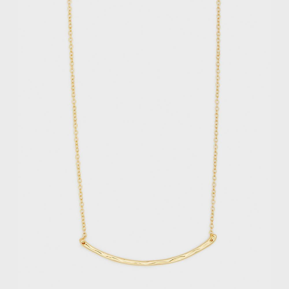Taner Bar Small Necklace - Gold 103-105