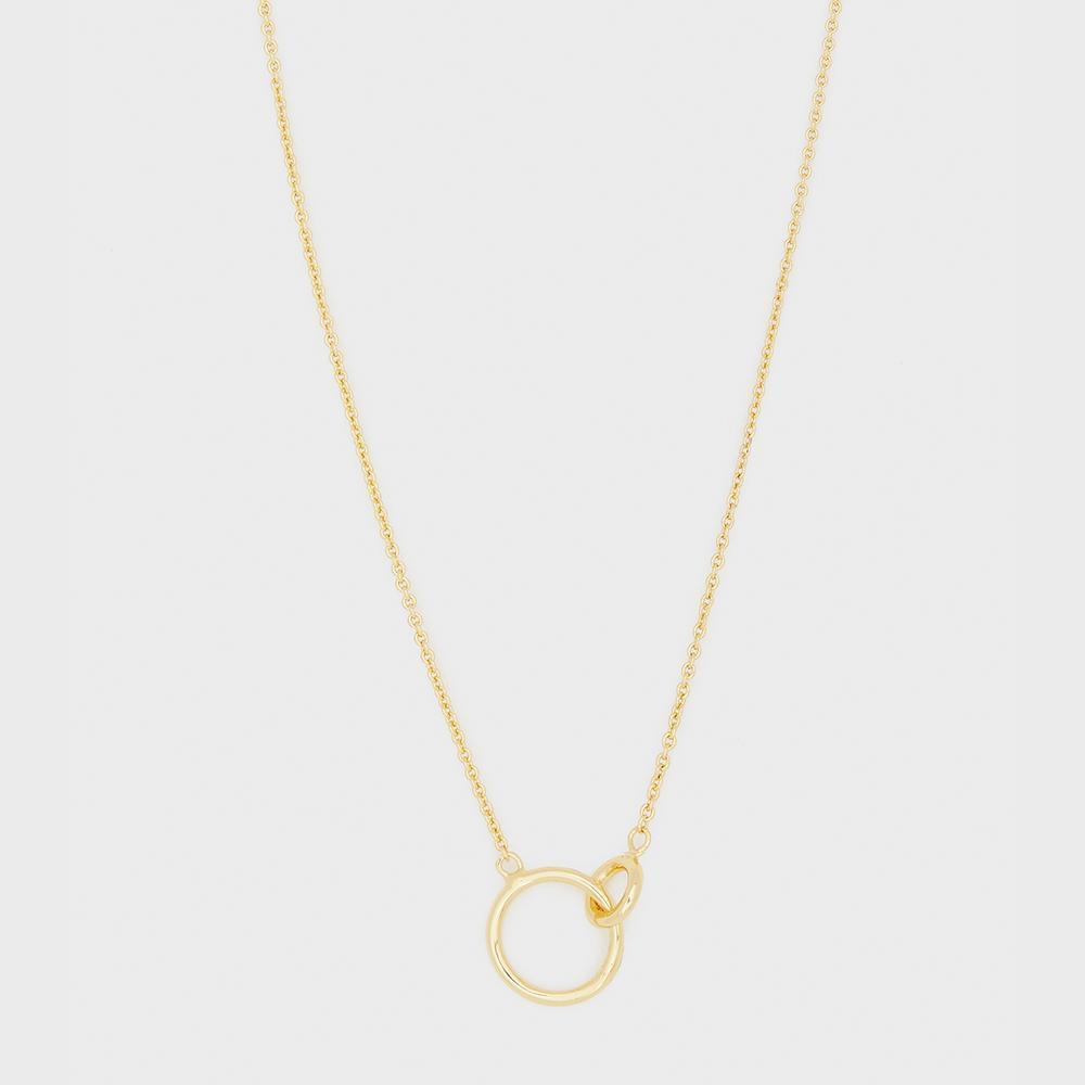 Wilshire Charm Adjustable Necklace - Gold 185-105-G