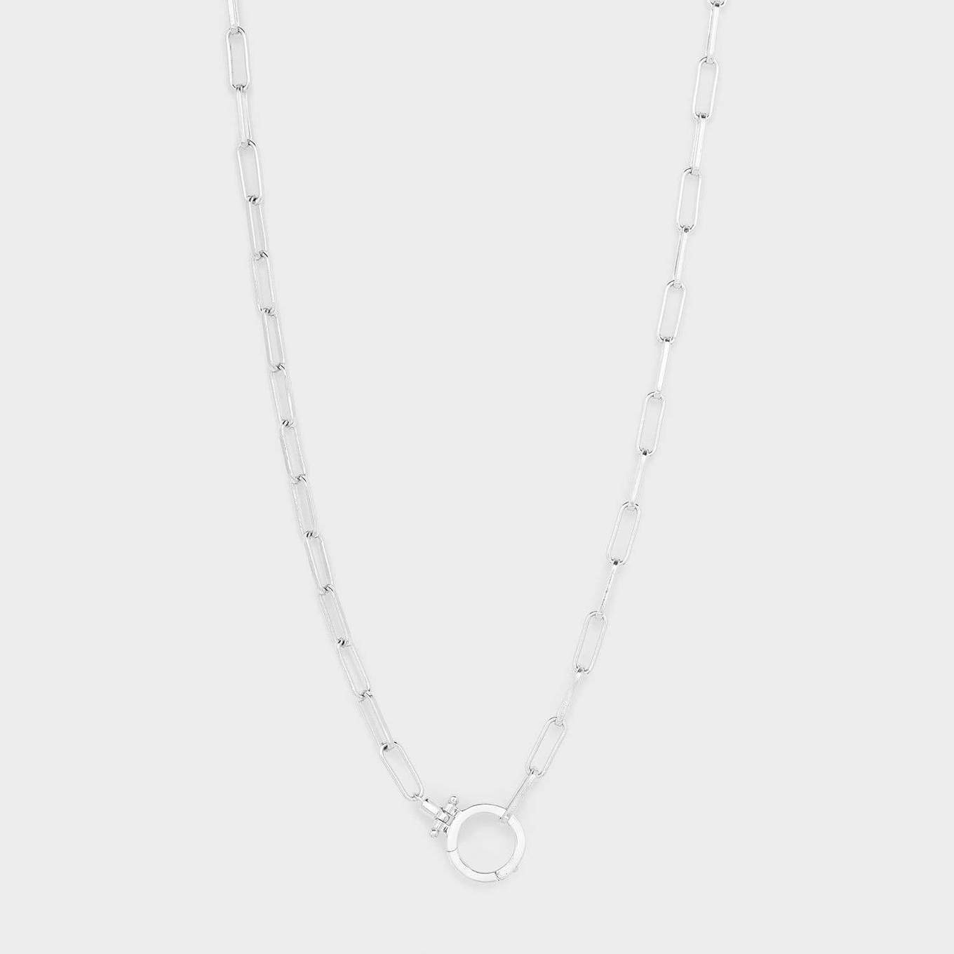 Parker Necklace - Silver 196-114