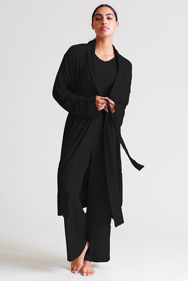 Collagen Robe - Black