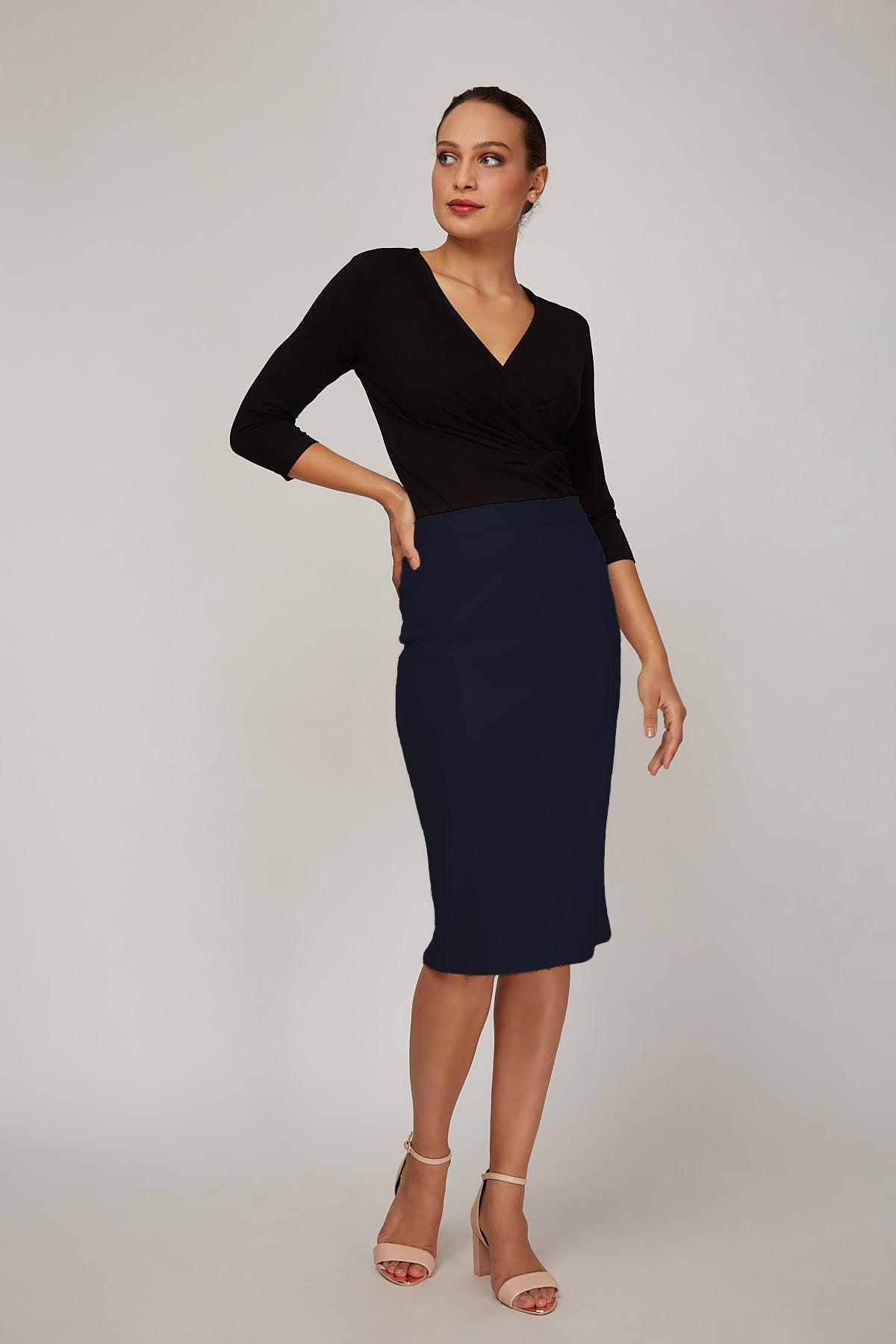 Rita Skirt - Dark Indigo