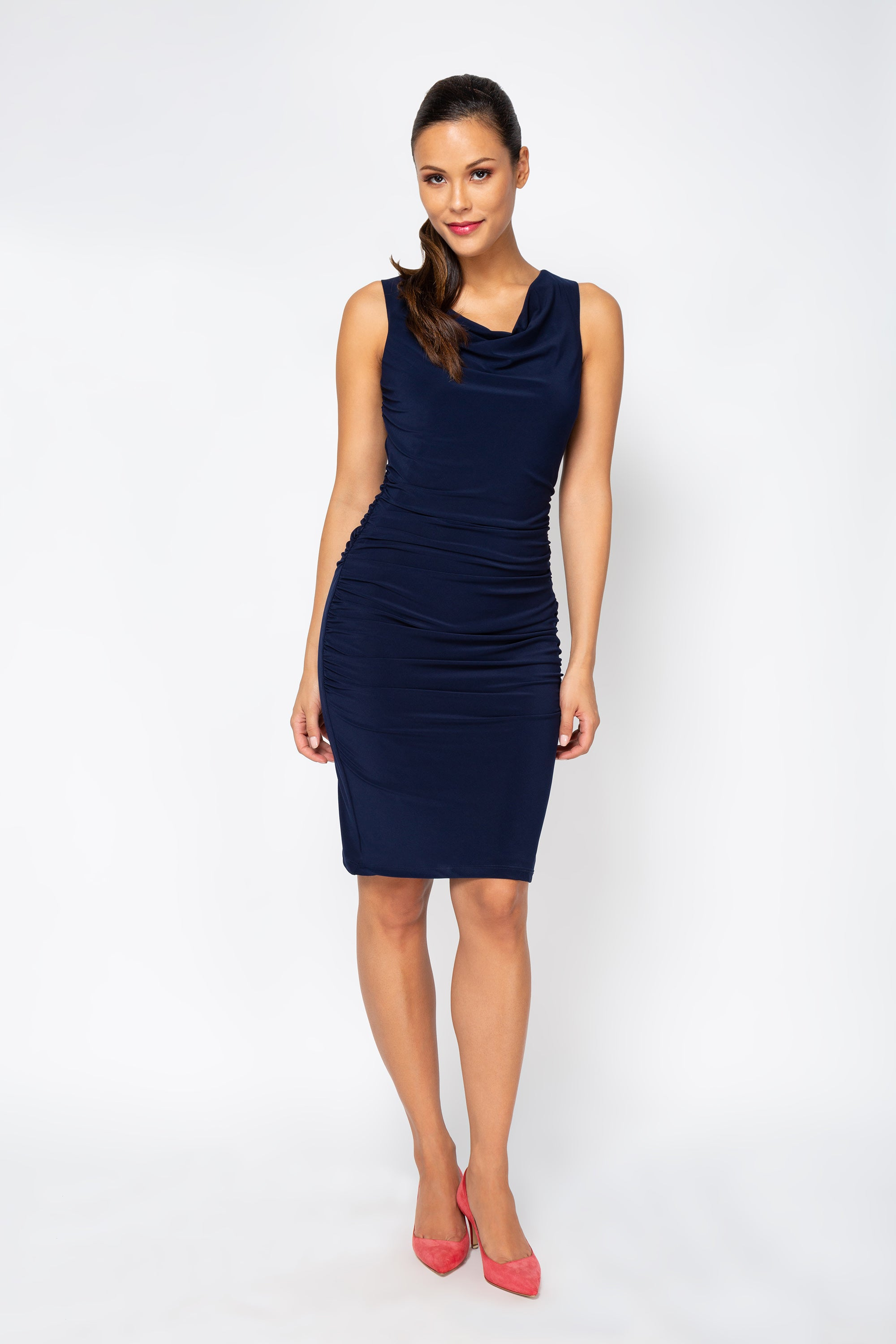 Dolce Dress - Navy