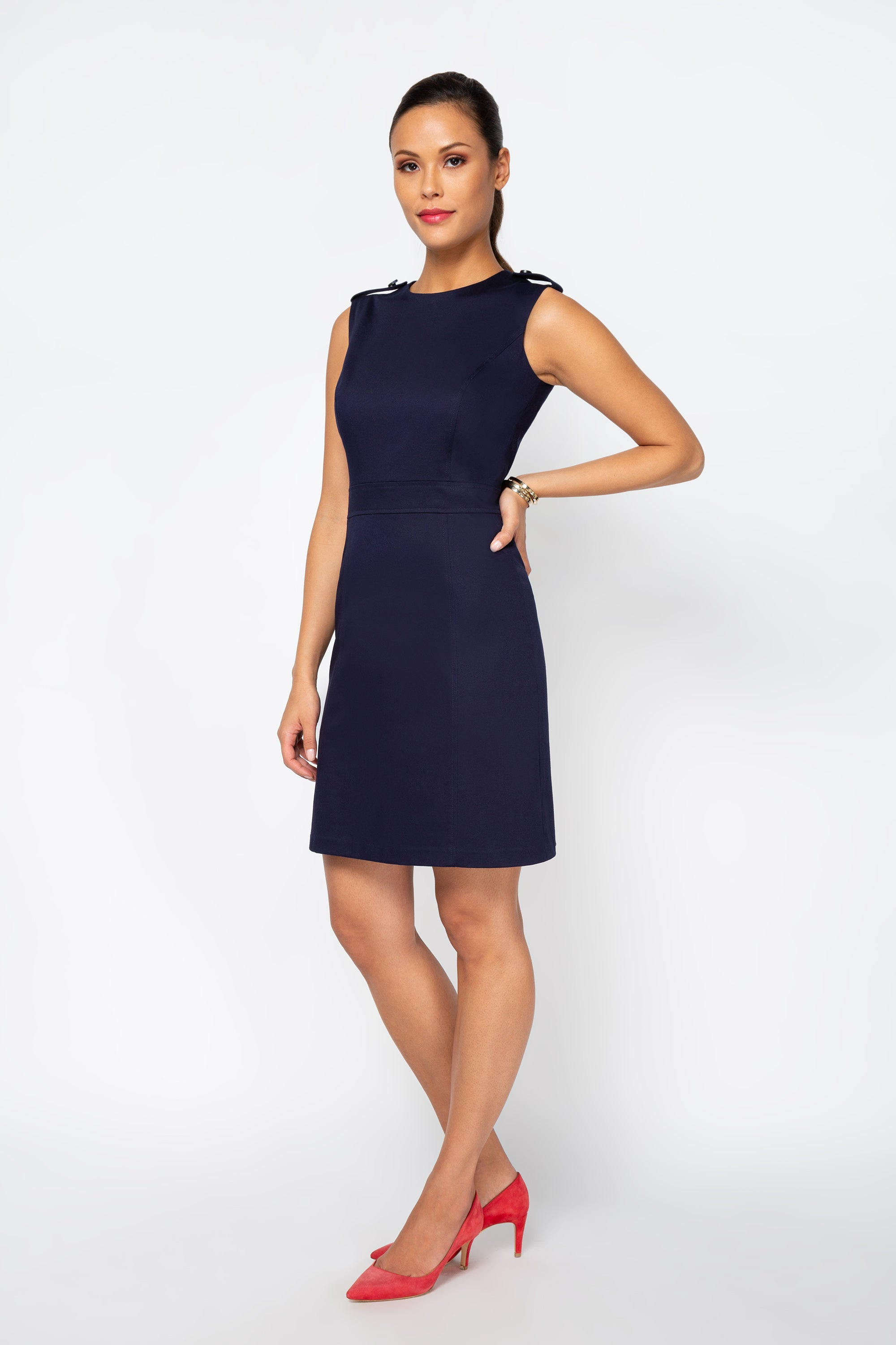 Emery Cotton A-line Dress