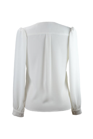 Women's Lola Top in Cream | Nora Gardner Back
