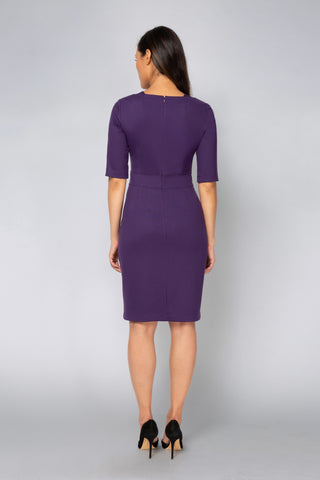 Karyn Dress - Purple