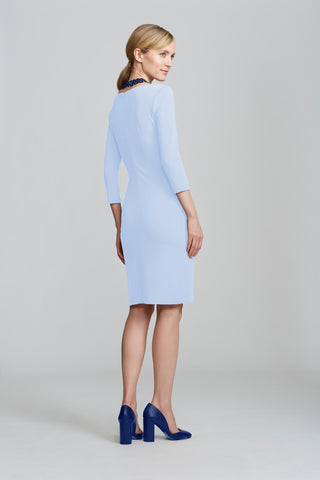 Women's Lydia Dress in Baby Blue | Nora Gardner Back