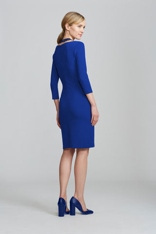 Women's Lydia Dress in Royal Blue | Nora Gardner Back