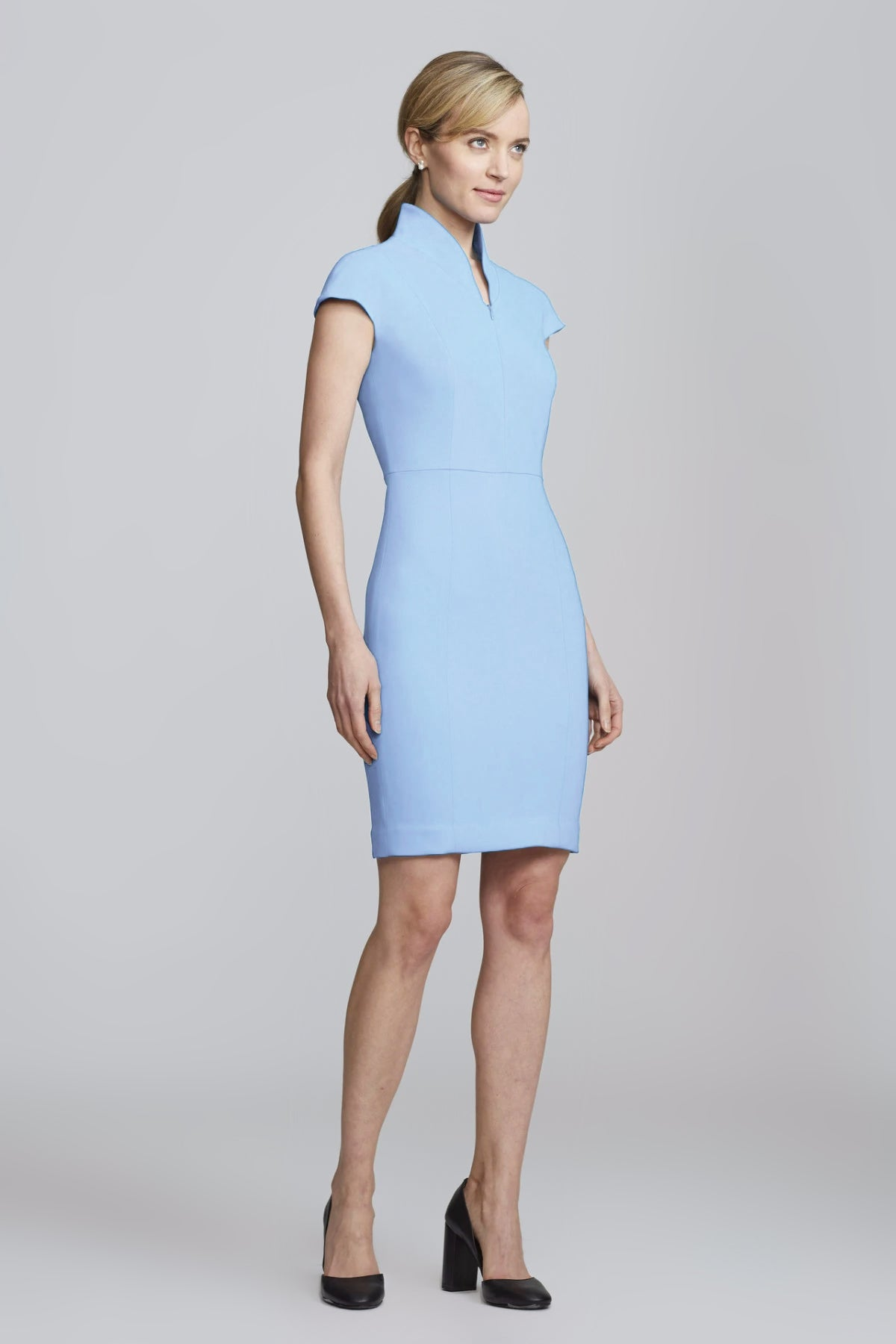Evelyn Dress - Baby Blue Pre-order